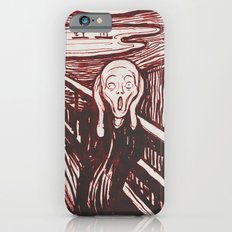 The Scream's Haze (red) iPhone 6s Slim Case