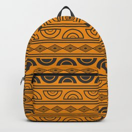 Mud cloth geometry Backpack