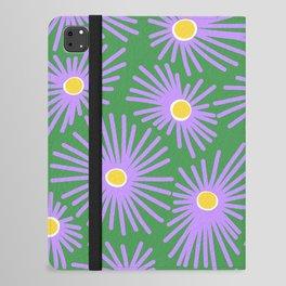 New England Asters iPad Folio Case