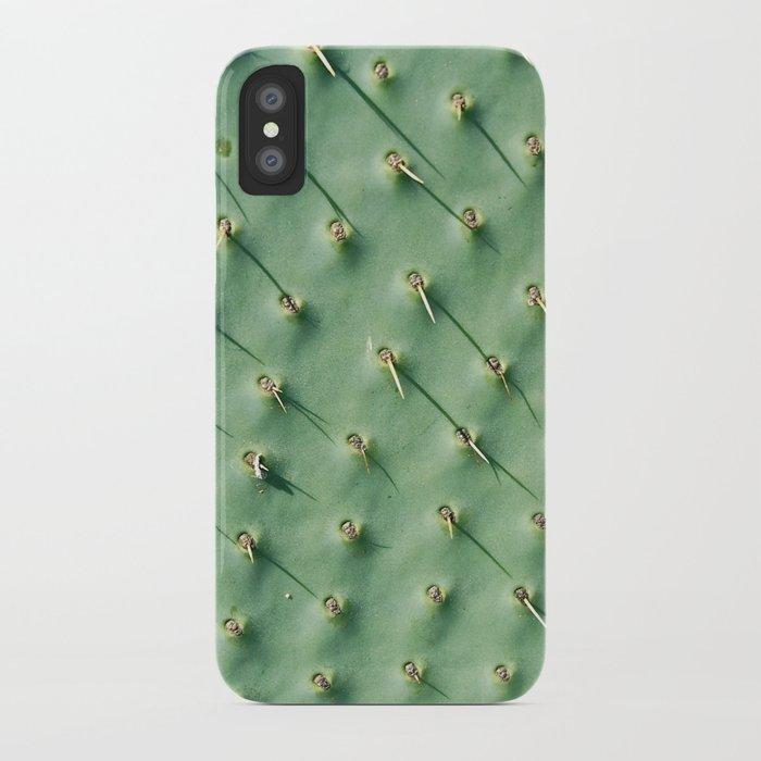 Cactus spikes iPhone Case