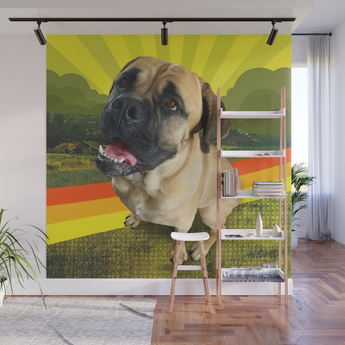 HANDSOME land Wall Mural