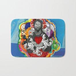 Sagrado Coração de Jesus (Sacred Heart) #2 Bath Mat