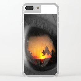 an eye for an eye Clear iPhone Case