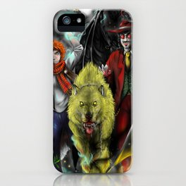 The way of legendsa - mage, lycan and vampire iPhone Case