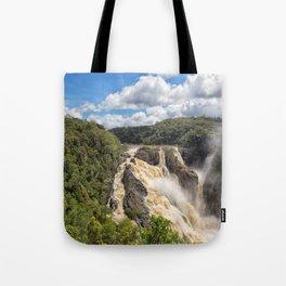Magnificent Barron Falls in Queensland Tote Bag