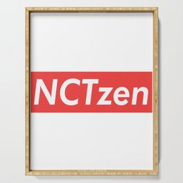 NCT NCTzen red Serving Tray