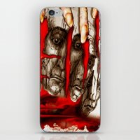 zombies iPhone & iPod Skins featuring Zombies by Rafael Salazar