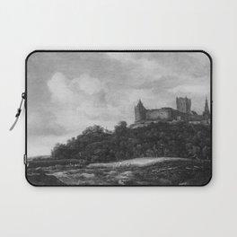 Jacob van Ruisdael - View of Bentheim Castle with grain field below Laptop Sleeve