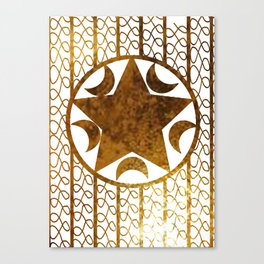 Golden Tyme Canvas Print