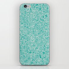 Chalk Doodle iPhone & iPod Skin