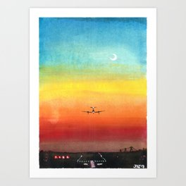Airplane Kunstdrucke