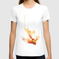 goldfish T-shirts featuring GoldFish by Carlos Asensi