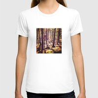 western T-shirts featuring Western Woods by Ken Seligson