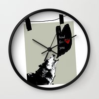 georgia Wall Clocks featuring georgia by love is possible