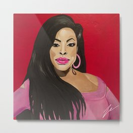 NIECY NASH BY ROBERT DALLAS Metal Print