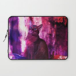 The Sunkissed Abyssinan Cat from Planet Kitarus Laptop Sleeve