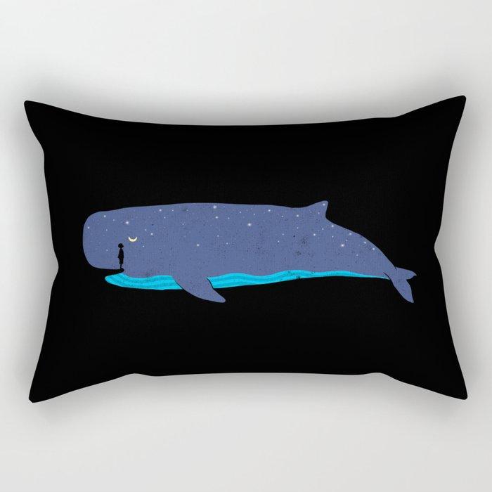 Whale you miss me? Rectangular Pillow