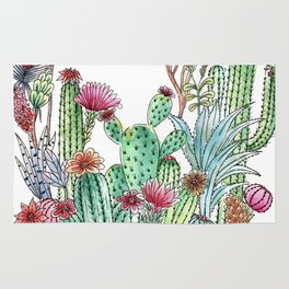 Cactus garden Rug
