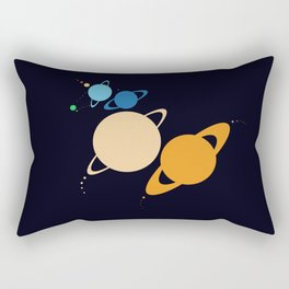 Solar System Unicorn Rectangular Pillow