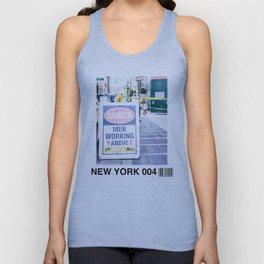New York 004 Unisex Tank Top