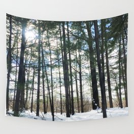 Winter Woods1 Wall Tapestry