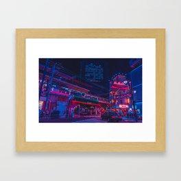 Neo Tokyo Framed Art Print