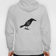 Deep Dark Fears - Black Crow Hoody