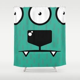 Monsters⁴ : Blue Shower Curtain