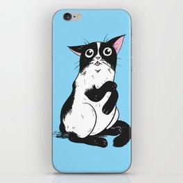 Clean Kitty iPhone Skin