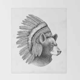THE CHIEF Throw Blanket
