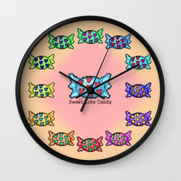 Sweet like candy Wall Clock