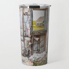 Attic, Yellow House, Arena, ND 1 Travel Mug