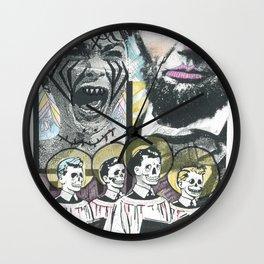 Psycho Lincoln Wall Clock