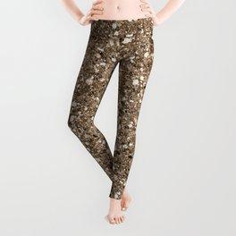 Glitters and Glitz Champagne Leggings