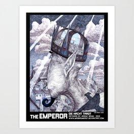 THE EMPEROR Art Print