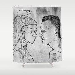 Yolandi & Ninja Shower Curtain