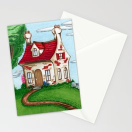Hilltop Cottage Stationery Cards