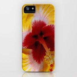 Yellow Burst Flower iPhone Case