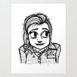 Roth-Shy Girl Art Print
