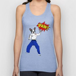 PAW POW - Kungfu Dog Unisex Tank Top