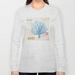 Watercolor Seafan Long Sleeve T-shirt