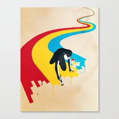 Rainbow Road Canvas Print
