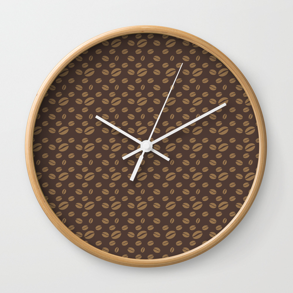Fancy A Cup Of Coffee? Wall Clock by Anishacreations CLK805671