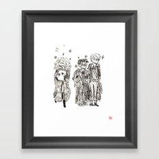 New Term at Hogwarts Framed Art Print