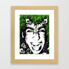 Demon Boy Framed Art Print