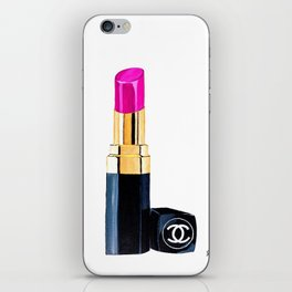 Pink Lipstick iPhone Skin