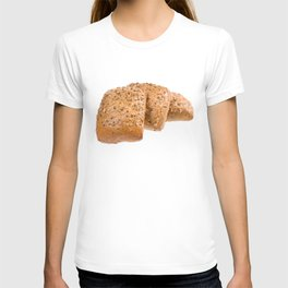 baked graham bread rolls T-shirt