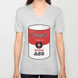 Deadpool's Can of Whoop-Ass! Unisex V-Neck