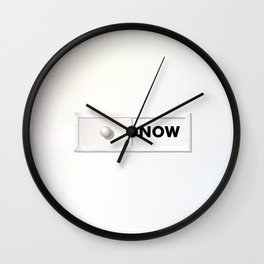 NOW 02A Wall Clock