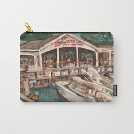 """""""Marina at Western Bay"""" Kelley's Island, Ohio Painting Carry-All Pouch"""